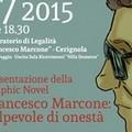 """Francesco Marcone: colpevole di onestà"". Graphic novel a Cerignola"