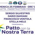 """""""Patto con la Nostra Terra"""", la firma domenica 25 febbraio a Barletta"""
