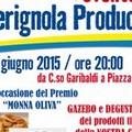 Seconda edizione del Premio Monna Oliva