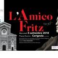 """Sindaco Metta: """"L'Amico Fritz"""" in Piazza duomo il 5 Settembre"""