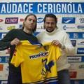 Il centrocampista Davide Moro nell'Audace Cerignola