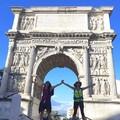 Patrizia e Luisa, a piedi da Canosa a Benevento sulla via Francigena del sud