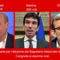 Primarie per l'elezione del Segretario Nazionale del PD, a Cerignola vince Martina.