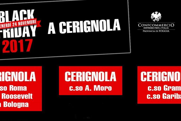 "Specchio: ""Cerignola aderisce al Black Friday"""