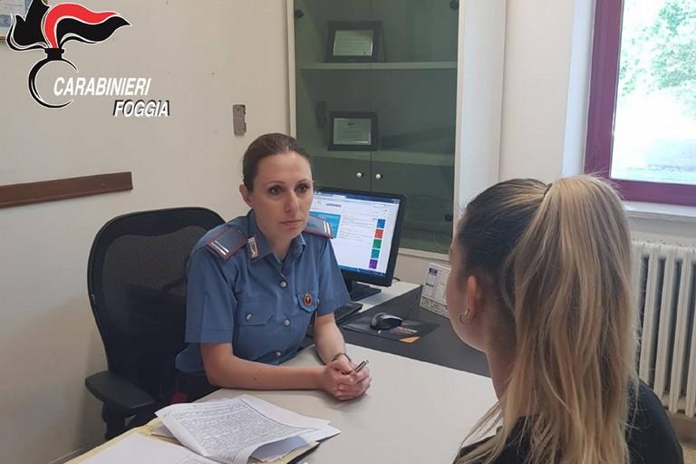 Carabinieri a tutela delle donne