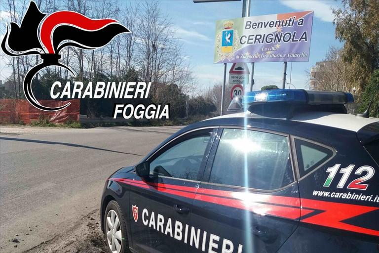 Carabinieri su strada