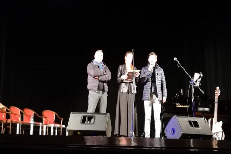 Carlo Dercole con Veronica Pellegrino e Carlo gallo