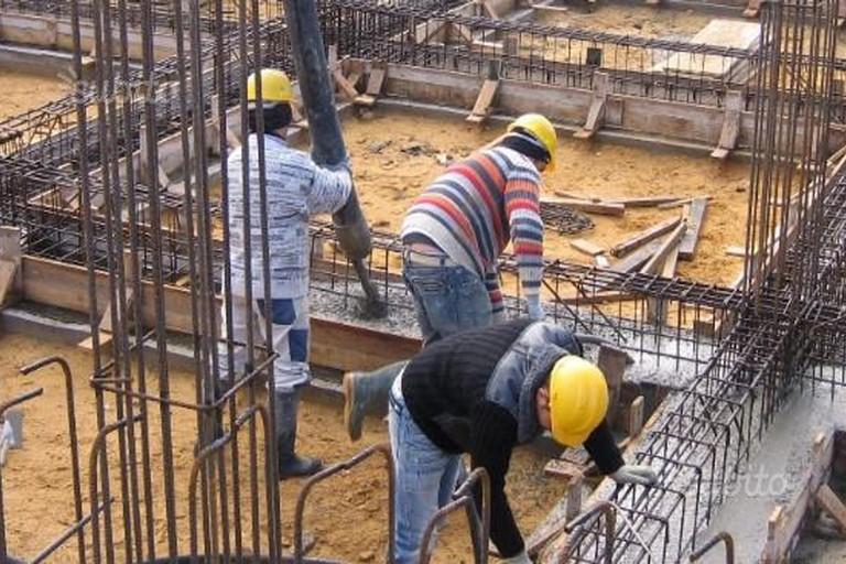Carpentieri a lavoro