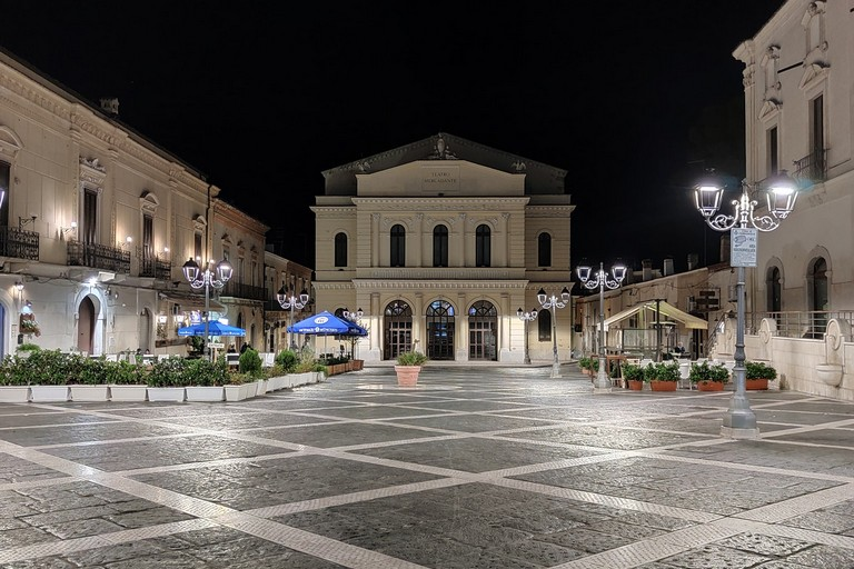 Piazza Mercadante -Cerignola. <span>Foto Alfonso Divito</span>