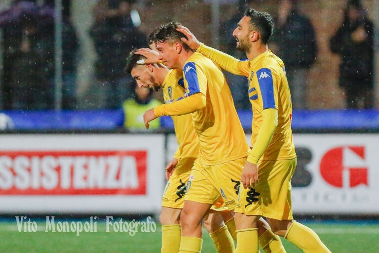 Ciro Foggia Gabriele Carannante e Nicola Loiodice (Foto Vito Monopoli)