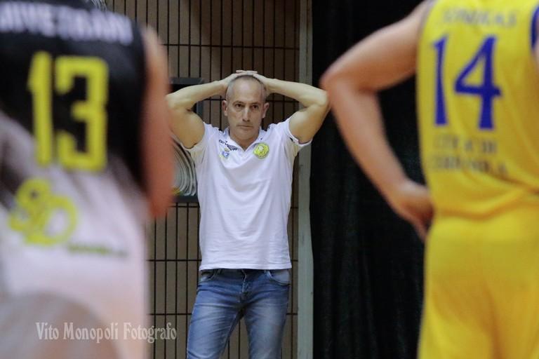 Coach Federico Santoro (Foto Vito Monopoli)