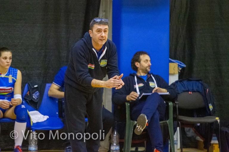 Coach Marco Breviglieri. <span>Foto Vito Monopoli</span>