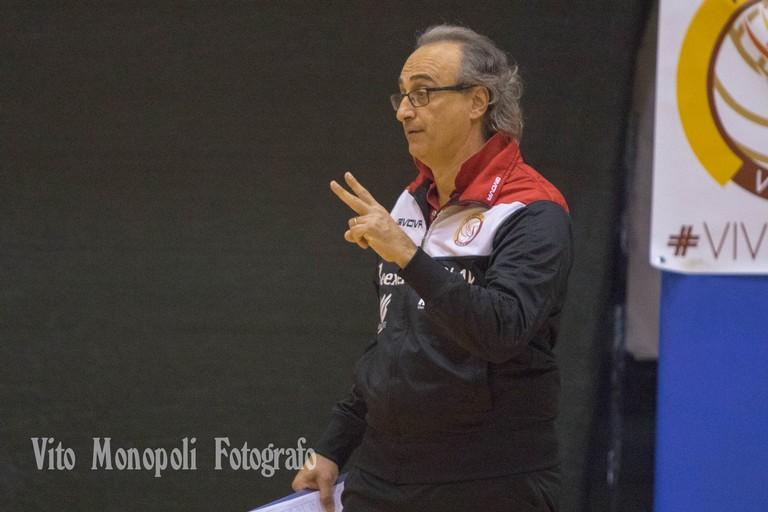 Coach Pino Tauro. <span>Foto Vito Monopoli</span>