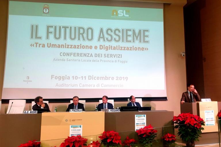 Relatori conferenza dei servizi ASL FG