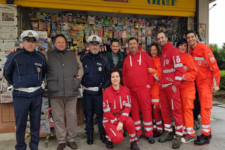 Croce Rossa, Polizia Municipale e Vincenzo Erinnio