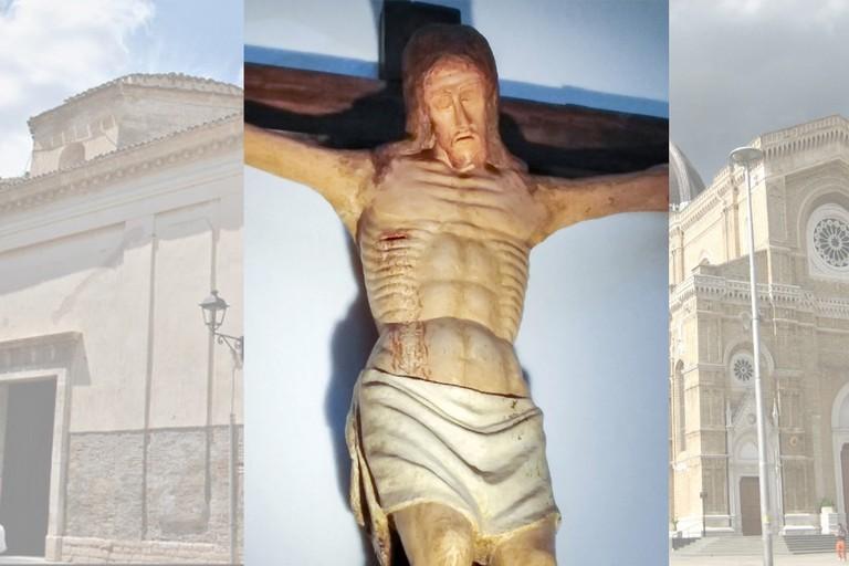 Corcificco Ligneo da Chiesa Madre a Duomo