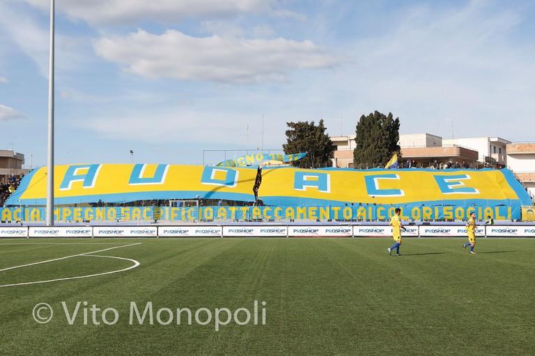 Coreografia Ultras. <span>Foto Vito Monopoli</span>