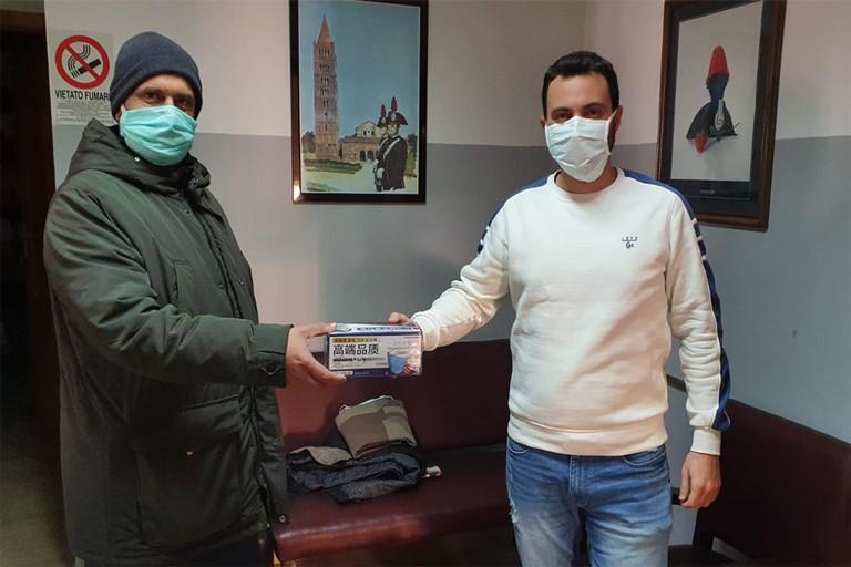 Donazione mascherine