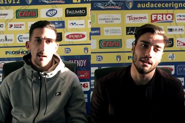 Francesco Zagaria intervista Alessando Abagnale e Ciro Foggia -VIDEO-