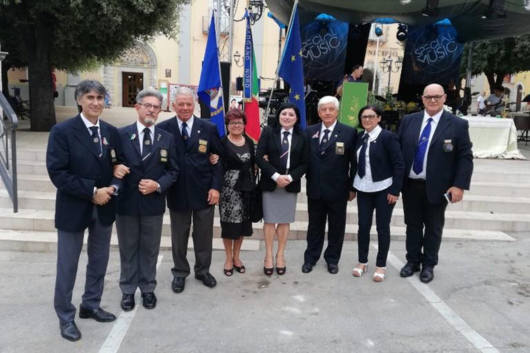 Premio I.P.A. foto di gruppo con Andrea Palladino