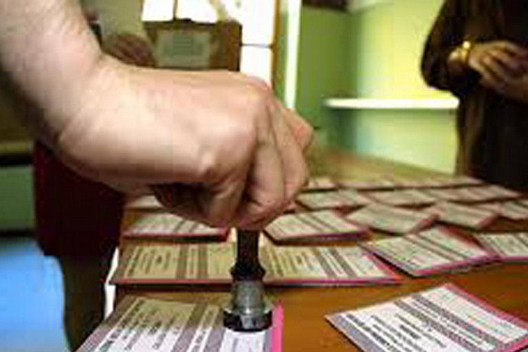 Foto seggio elettorale