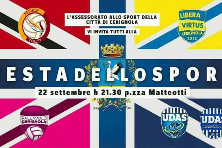 Festa dello Sport. Questa sera in Piazza Matteotti alle 21:15