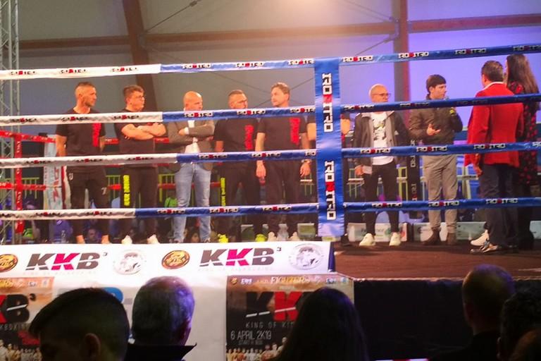 Gruppo sul ring