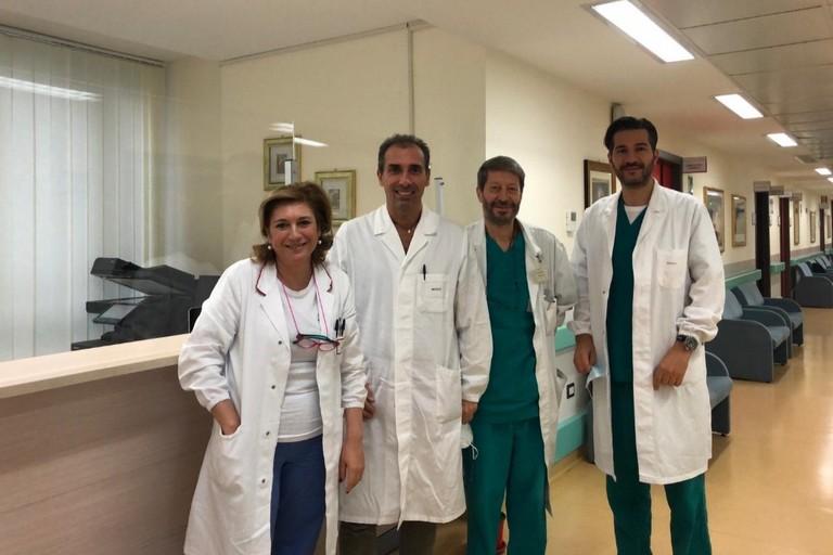 Gruppo UOSD Andrologia. <span>Foto Policlinico Riuniti Foggia</span>