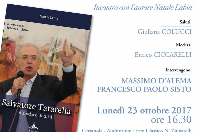 Cerignola: D'Alema e Sisto ricordano Salvatore Tatarella, il sindaco di tutti