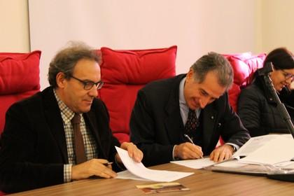 """Protocollo di intesa tra Uff. Scolastico Regionale Fondazione """"Giuseppe Pavoncelli"""""""
