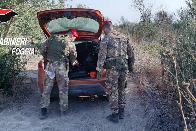 Furti d'auto,  due arresti a Cerignola