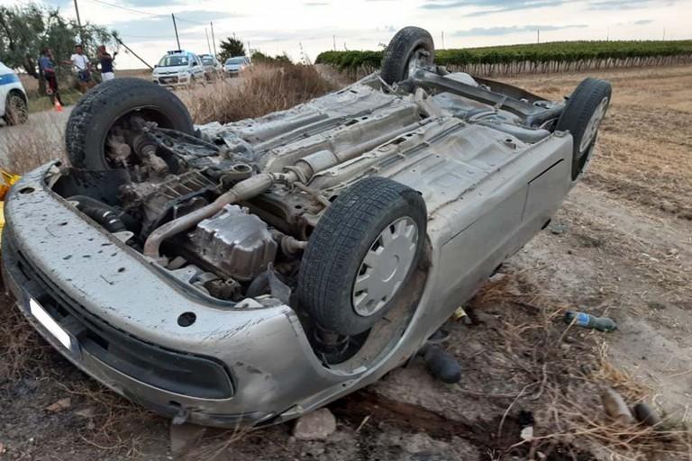 incidente strada provinciale 69