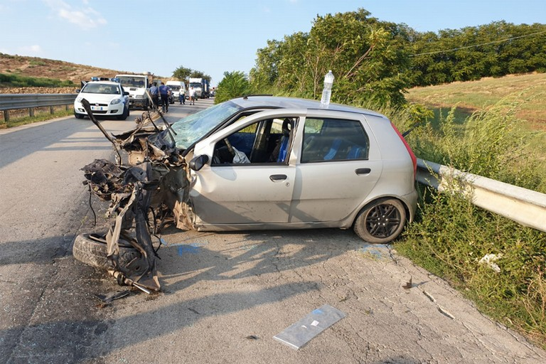 Incidente sulla sp 143 Cerignola