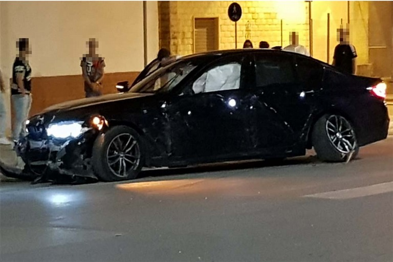 Incidente BMW Viale di Ponente