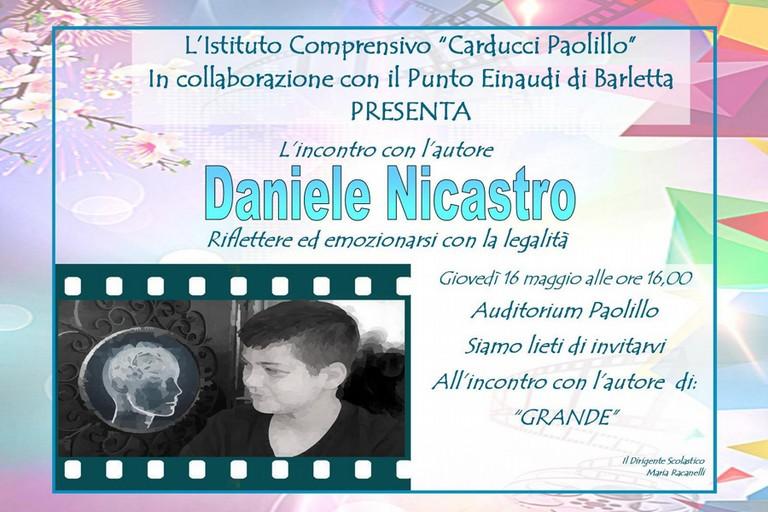 Incontro con Daniele Nicastro