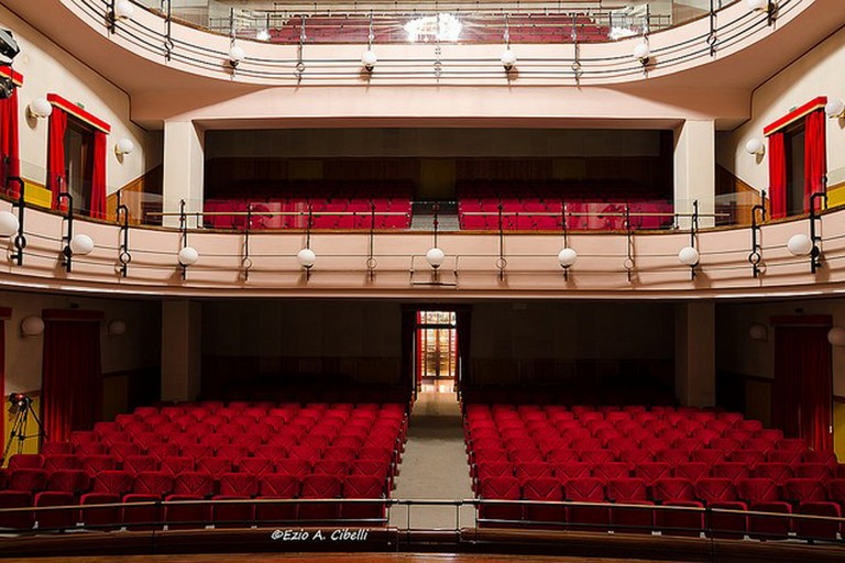 Interno Teatro Mercadante