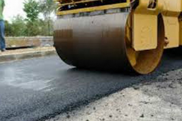 Lavori di asfalto