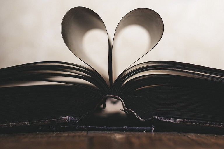 Libro con cuore