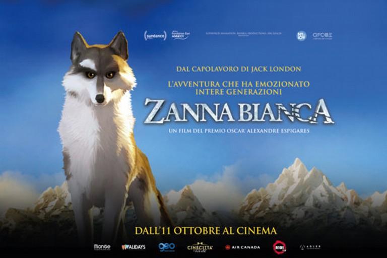 Locandina film Zanna Bianca