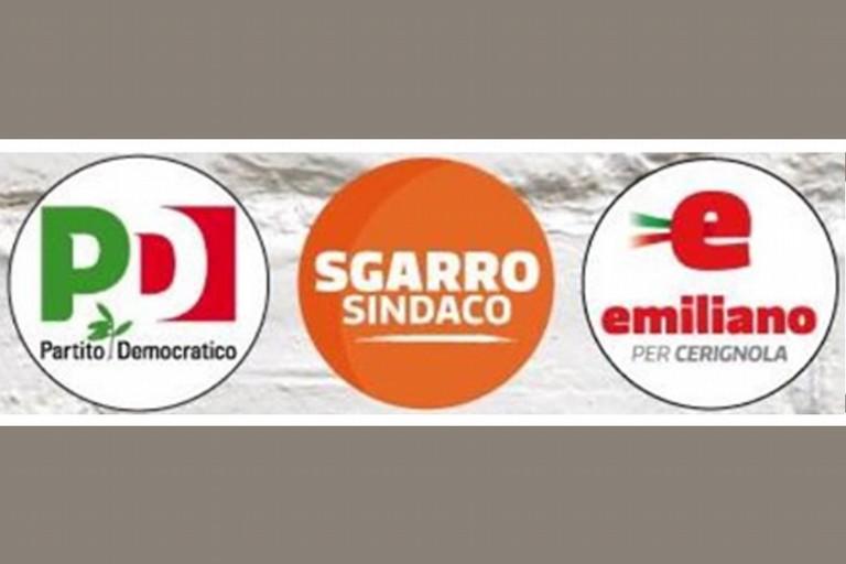 Loghi PD, Sgarro, Emiliano