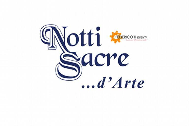 Logo Notti sacre d'arte