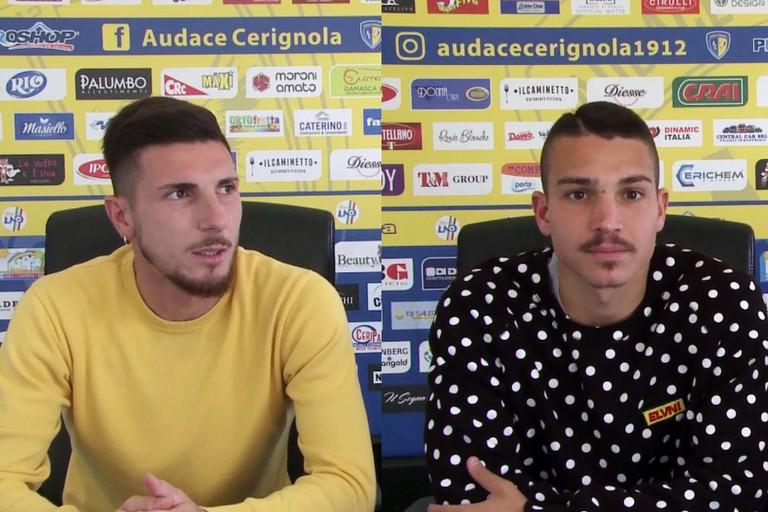 Audace Cerignola, la conferenza stampa con Loiodice e Esposito -VIDEO-