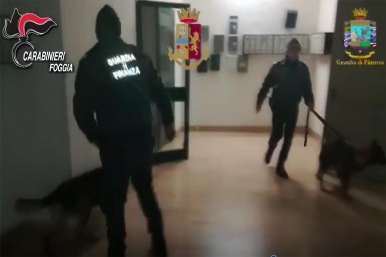Maxi operazione a Foggia
