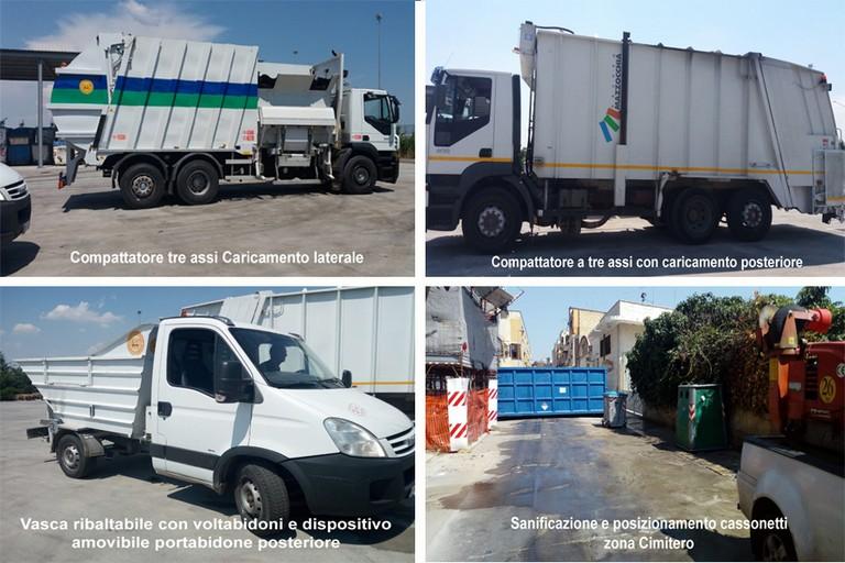 Assessore Mininni: Sostituzione cassonetti, ci sono stati consegnati  nuovi mezzi per la pulizia della città -FOTO-