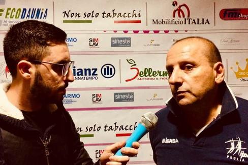 Intervista a Pino Filannino | Coach Pallavolo Cerignola