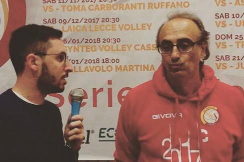 Intervista a Coach Pino Tauro | Errico Tecnomaster.biz Fenice Volley