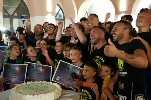 "VIDEO Esami di cintura ASD  ""Fighters "" del team Dibisceglia - Colucci"