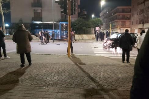 Incidente Cerignola incrocio Via Borsellino - Via Milano