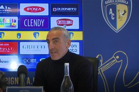 Conferenza stampa. Francesco Zagaria intervista Mister Feola