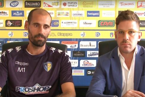 Mister Potenza in conferenza Stampa con Francesco Zagaria